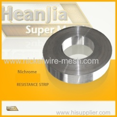 Nichrome 60/15 Resistance and Heating Tape
