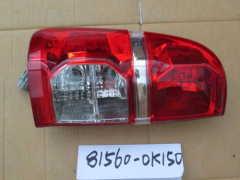 Feu arrière pour Hilux GGN15 81560-0K150
