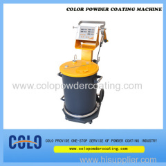 CL-131S manual powder coating unit- Efficiency and flexibility in perfect design