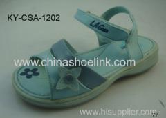 Blue girls summer sandals