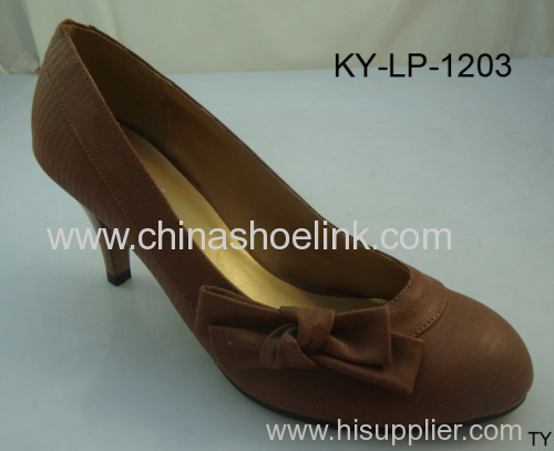 ladies fashion high heel shoes
