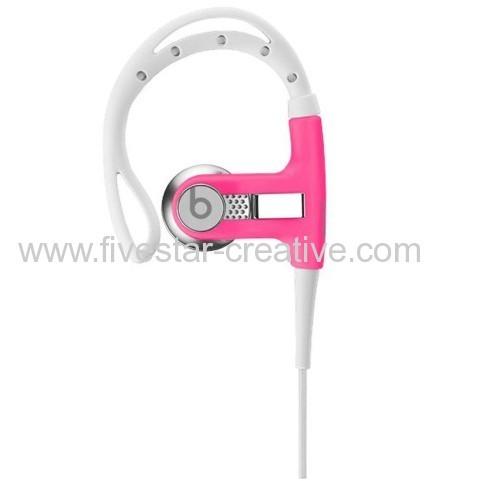 Beats by Dr.Dre Powerbeats Athletic Earbud Headphones Neon Pink
