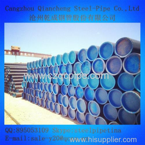 Seamless fluid tube ASTM A106M Grade A