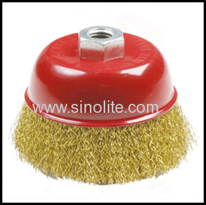 Brassed Wire Cup Brush