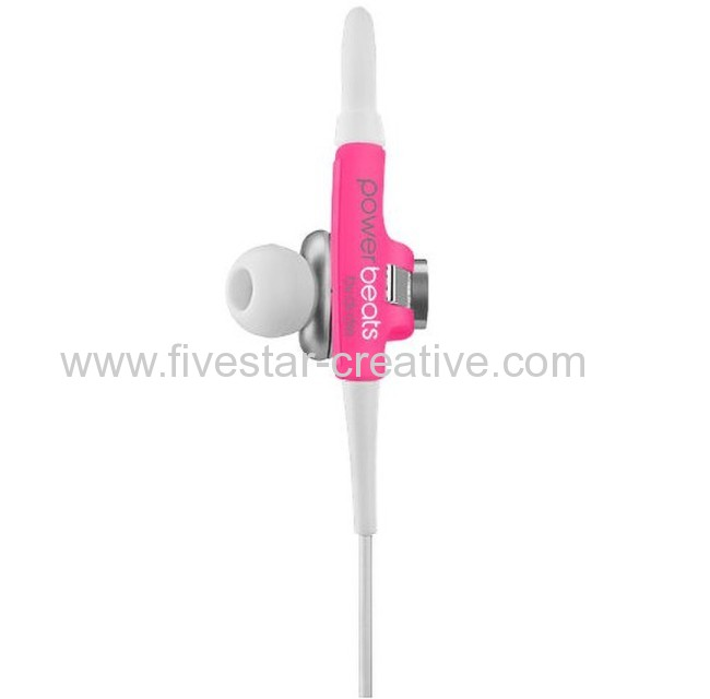 Powerbeats by Dr.Dre by Dre Neon Pink Sport Earphones Limited Edition