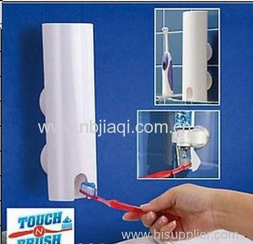 Automatic toothpaste dispenser/ plastic automatic toothpaste dispenser