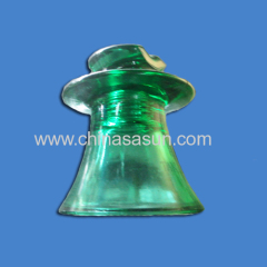 pin toughened glass insulator in china