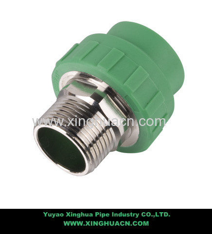 male and female pipe coupling