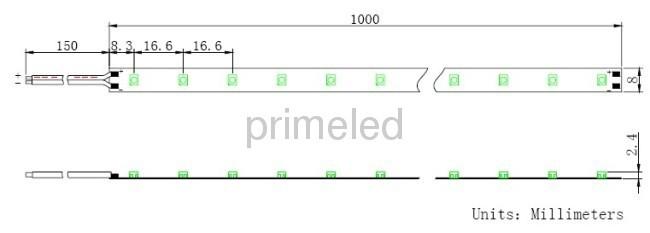 2700-3500K Warm White LED Strip Lights