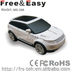 Car shape mouse for wired car mouse