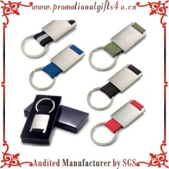 Colored Canvas Promotional Key Ring