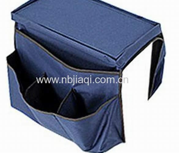 Hot selling storage bag sofa arm rest organizer/ sofa arm organizer