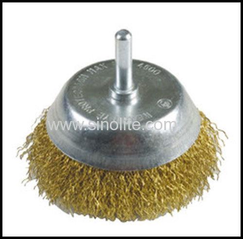 Twist Wire Cup Brush wich Shank