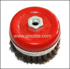 Twist Wire Cup Brush