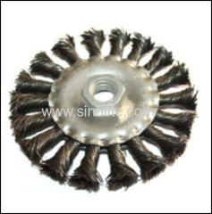 Twist Wire Circular Brush 100mm 125mm 150mm 175mm 200mm 250mm