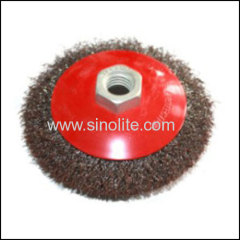 Bevel Brush Brassed Wire
