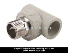 ppr pipe fitting male tee