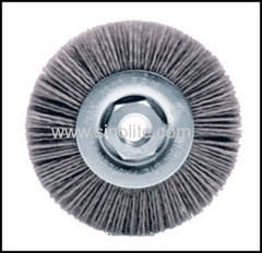 Twist Wire Nylon Brush .