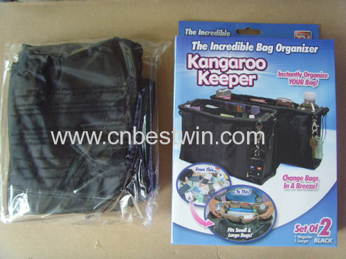 KANGAROO KEEPER REMOVABLE HANDBAG ORGANIZER