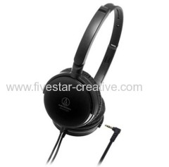 Audio-Technica ATH-FC707 Closed Dynamic Black Headphones