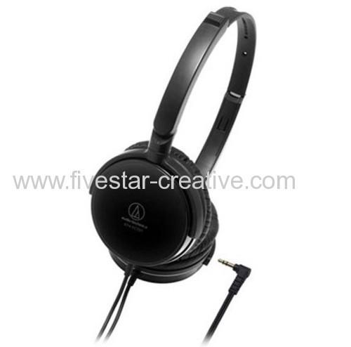 Audio-Technica ATH-FC707 Closed Dynamic Black Headphones