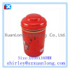 Round Shape Tea Tin Can