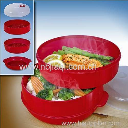 Microwave food steamer/microwave steamer