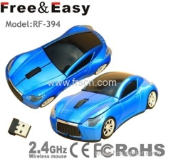 racing car wireless computer mouse