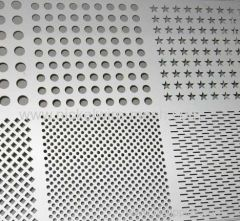Hastelloy C-4 Perforated Metal