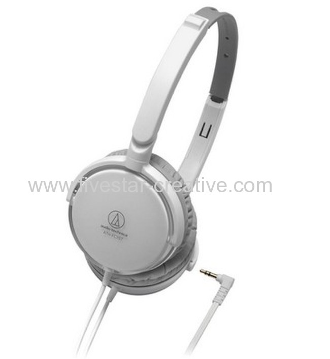 Cheap Audio Technica On the ear ATH-FC707 White Headphones