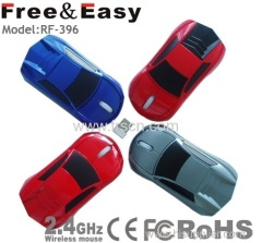 3d wireless car mouse