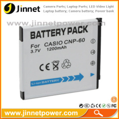 For Casio CNP60 replacement battery