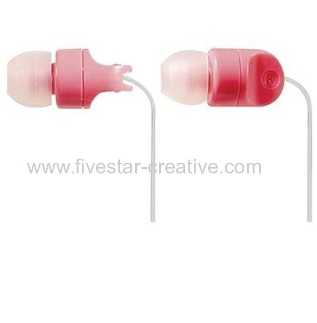 Panasonic Stereo Earphones Ear Candy RP-HJE100 in Pink