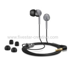 Sennheiser CX200 Street II Twist-to-Fit Earbuds Stereo Headphones Black