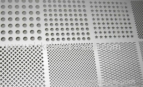 Duplex stainless steel 2205 Perforated Metal