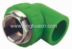 ppr pipe fittingmale elbow 90 degree