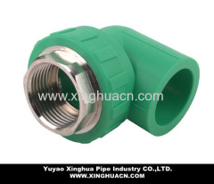 ppr pipe fitting male elbow 90 degree