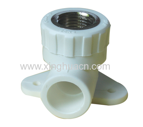 ppr fittings copper female elbow with disk