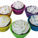 Colorful Silicone Jelly Bakeware Set baking cups
