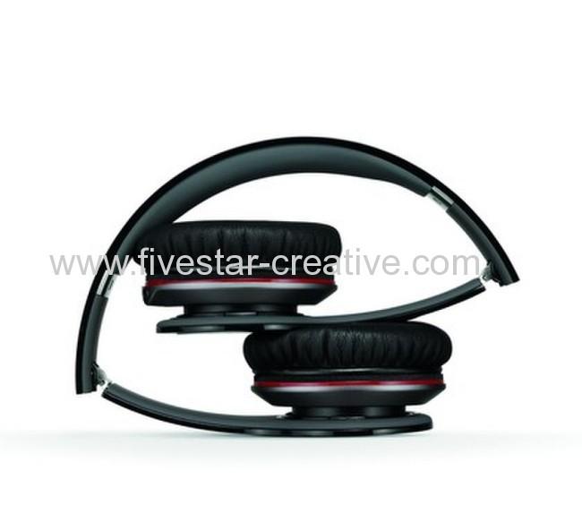 2013 Beats Version Beats by Dr.Dre Solo HD On-Ear Headphones Black