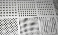 Haynes 214 Perforated Metal