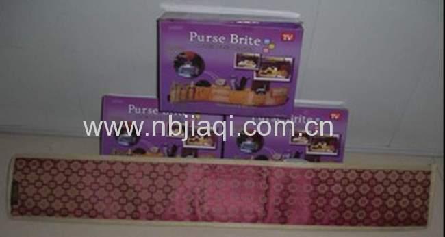 Purse brite /purse organizer/purse lighted brite organizer