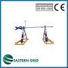 Hydraulic reel stand for conductor stringing