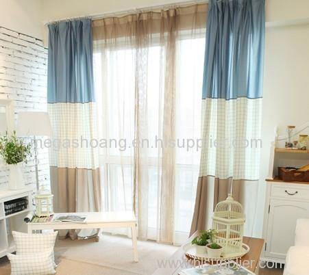 Korean Countryside Curtains Living Room Bedroom Children