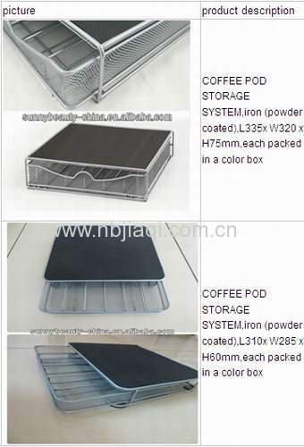 Coffee POD STORAGE SYSTEM/Coffee Pod Storage