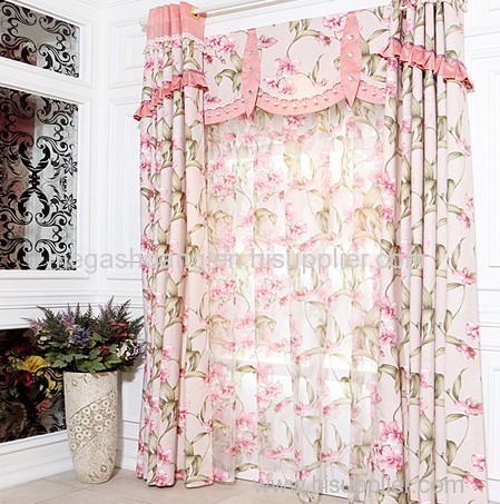 Living Room European Style Curtains Floral Curtains Girls Room Curtain Part 21