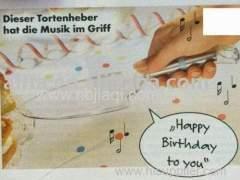 MUSICAL CAKE CUTTER/musical notation plastic cake cutter mold