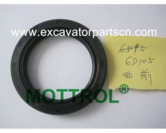 6D105 CRANKSHAFT FOR EXCAVATOR