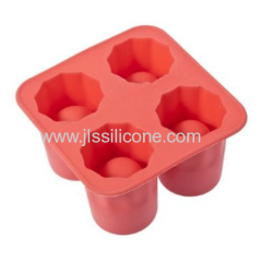 High quality silicone ice cube tray kitchenware