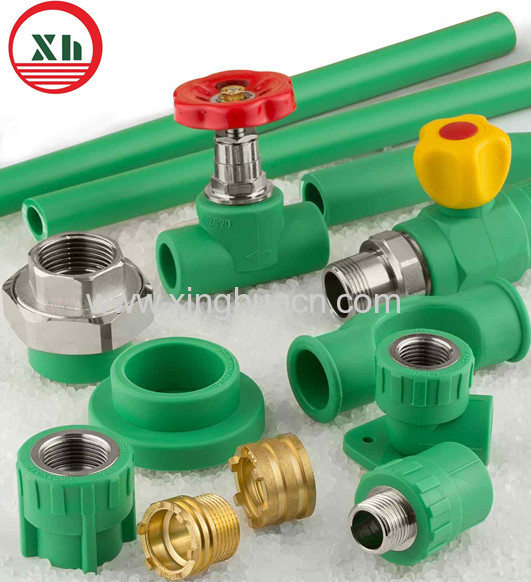 PPR pipe union fittings for water supply